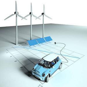 Zusammenhang E-Mobility und CO2 Neutralität, (Foto: M. Sachenbacher)