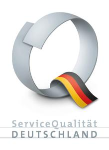 DQS zertifiziert für Siegel ServiceQualität Deutschland