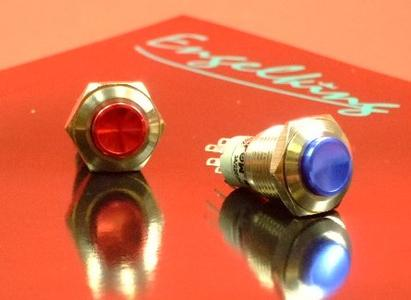Colored Metal Pushbuttons Combine Robustness with Exciting Design Possibilities