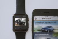 Autosuche via Smartphone App und Apple Watch