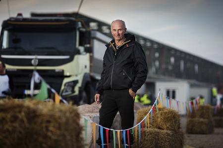 Gunnar Eliasson, Produkteinführungsmanager bei Volvo Trucks / VOLVO TRUCKS Image and Film Gallery