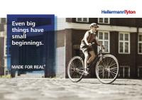 Paying homage to the idea behind the company: founder Paul Hellermann's patented grommets were inspired by the tiny rubber tube in bicycle valves over 80 years ago.