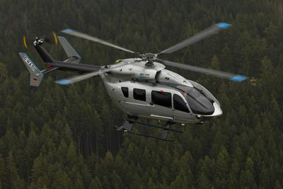 Meravo will operate Germany's first Eurocopter EC145 Mercedes-Benz Style