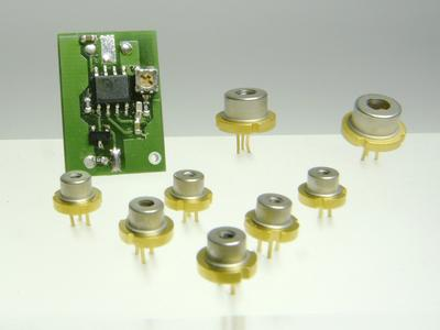 LSC-035 – Operation of Blue, Red, and NIR Laser Diodes