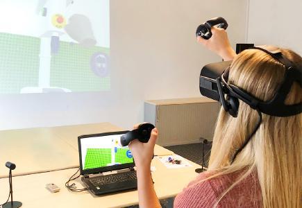 Virtual Reality beim Safety-Day von Melitta