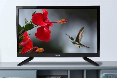 Kompakter Full HD Fernseher mit integriertem DVD-Player und 12 V Anschluss