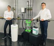 Virtual Classroom Christian Engel und Christian Zehtgruber retuschiert und zugeschnitten, Bild: Grünbeck Wasseraufbereitung GmbH