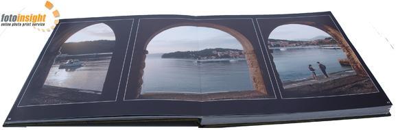Albumes de fotos impresos sobre papel fotográfico