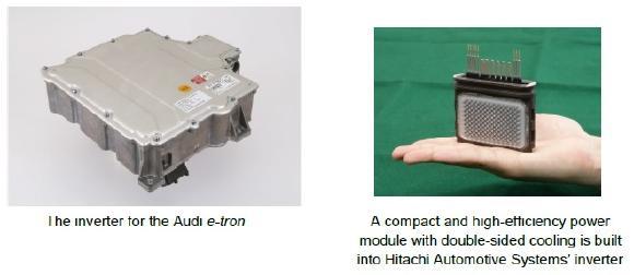 The inverter for the Audi e-tron