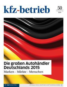 """Die """"kfz-betrieb""""-Sonderausausgabe zeigt die Erfolgsstrategien der großen Autohändler Deutschlands / Foto: kfz-betrieb"""