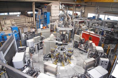 Produktion im KSM-Werk in Wernigerode (Foto. Hanuschke Fotografie)