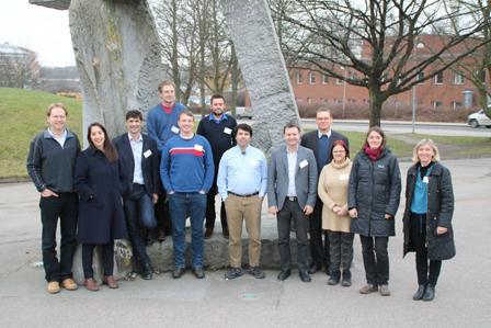 Beteiligte Forscher beim Auftakttreffen zum Projekt Bio4Compt an der Universität Lund. © Foto Teresa de Martino
