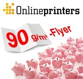 Flyers on 90 g/m² Art Print Paper now Available from Onlineprinters GmbH
