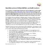 [PDF] Pressemitteilung: Opti.Mail archiviert E-Mails GDPdU- und GoBS- konform
