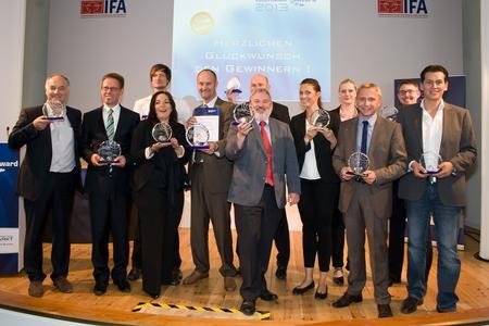 Die Gewinner des Telematik Awards 2013 für den Bereich der Human-Telematik. Bild: Telematik-Markt.de