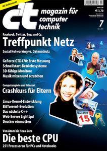 Titelbild der aktuellen c't-Ausgabe 7/2010