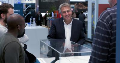 Michael Konrad at productronica 2019