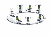 Schupp stellt mit der hydraulischen Zirkelgeräte-Serie ATAMA CIRCLE II seine neuesten MTT-Geräte für ein einfaches, effektives und dabei schonendes Ganzkörpertraining vor.