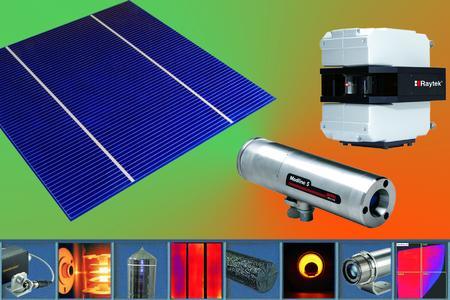 Raytek Lösungen für die Photovoltaik-Industrie