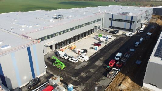 Distributionszentrum des Segments SHK der 3U HOLDING AG