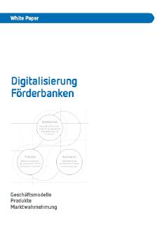 Weißbuch zur digitalen Transformation der Förderbanken