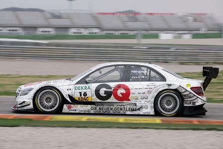 Dunlop DTM 2010 David Coulthard AMG Mercedes C-Klasse