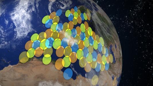 KA SAT spotbeams Copyright Eutelsat