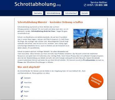 Altmetall loswerden leicht gemacht mit der Schrottabholung Münster