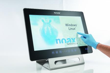 Das analog resistive Touch-Display des S21WR ist extrem robust und widerstandsfähig, reagiert aber dennoch punktgenau auf Ihre Eingaben.