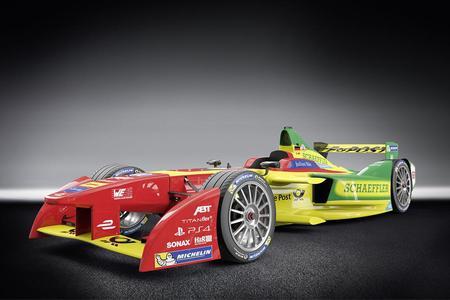 """Neuer Formel-E-Rennwagen """"ABT Schaeffler FE01"""" (Bildquelle: ABT Schaeffler Audi Sport)"""
