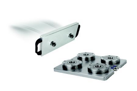 """Das """"Nullpunkt Spannsystem UNI lock"""" garantiert schnelles und genaues Spannen von Vorrichtungen und Werkstücken (Bild:HEINRICH KIPP WERK KG)"""