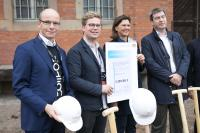 Ground-breaking ceremony for the Zollhof Tech Incubator - Schaeffler supports start-up center