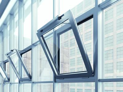GEZE Einbausit RWA System mit Slimchain Antrieben Detail, Photo: GEZE GmbH