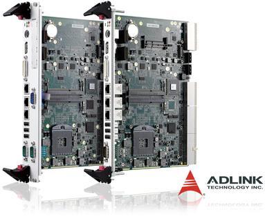 ADLINK Technology stellt 6 HE CompactPCI® Blade-Rechner mit Intel® Core(TM) i7 Prozessor der zweiten Generation vor