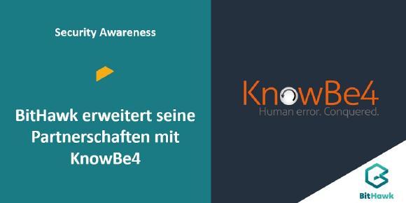 Partnerschaft mit KnowBe4