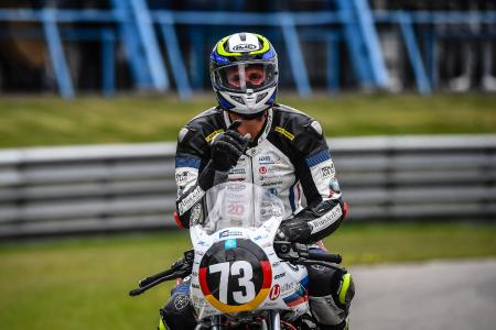 "31 points in advantage: ""Fifty"" Höfer wins on Wunderlich-R nineT in Assen and increases championship lead (Photo: highsidePR)"