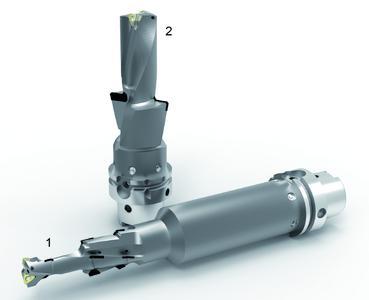 MAPAL Hybridwerkzeuge kombinieren unterschiedliche Werkzeugtechnologien