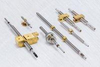 Kleingewindetriebe in verschiedenen Ausführungen