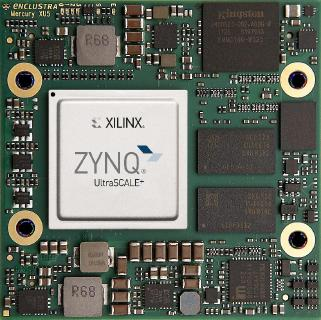 Enclustra Mercury XU5: the cost-effective Xilinx Zynq UltraScale+ SoC module