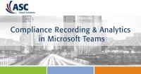 ASC Recording Insights für Microsoft Teams