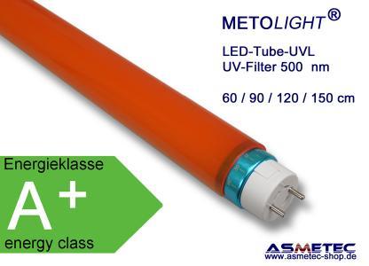 METOLIGHT LED-UVL-Röhren, 500 nm