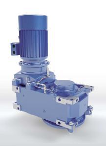 SAFOMI-IEC-Adapter für MAXXDRIVE®-Industriegetriebe von NORD DRIVESYSTEMS in Kombination mit Antriebsmotor: weniger Bauteile, erhöhte Betriebssicherheit Bild: NORD DRIVESYSTEMS