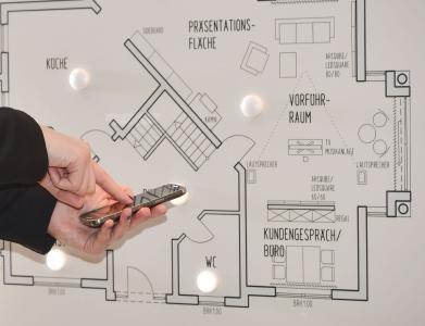 """Bildunterschrift: """"Listen"""": ein handliches und datenschutgerechtres System für """"smart homes"""". Foto: EML"""