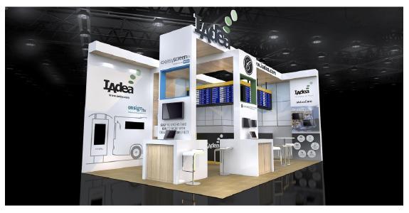 IAdea Deutschland GmbH auf der ISE (Integrated Systems Europe ) 2018