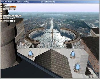 A 3D animated documentation by occasion of Pope Benedict's XVI birthday