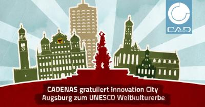 Innovation Company gratuliert Innovation City Augsburg zum UNESCO Weltkulturerbe