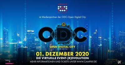 ABAKUS ist Medienpartner der virtuellen Marketing-Event-Stadt ODC