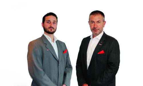 Hernán Ceballos, Lionel Blancheton After Sales and Services Manager Spain/Portugal, France