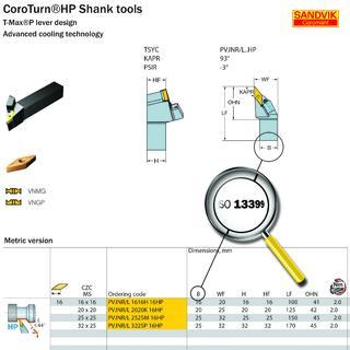Die von Sandvik Coromant mitentwickelte ISO 13399-Norm ermöglicht eine logische, standardisierte und systemunabhängige Übermittlung von Zerspanungswerkzeugdaten