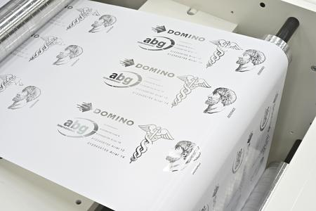 Druckmuster digitale Folienprägung